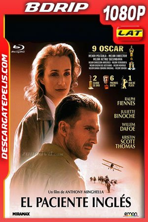 El paciente inglés (1996) 1080p BDrip Latino – Ingles
