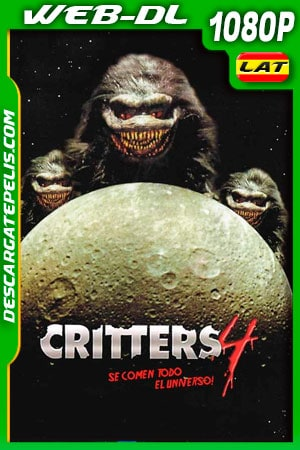 Critters 4 (1992) 1080P WEB-DL Latino – Ingles