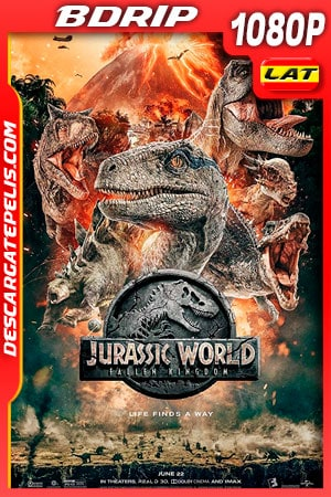 Jurassic World: El Reino Caído (2018) 1080P BDRIP Latino – Ingles
