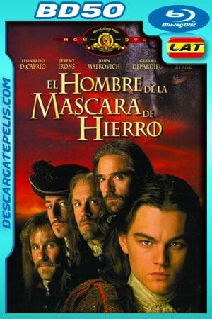 El hombre de la máscara de hierro (1998) 1080p BD50 Latino – Ingles