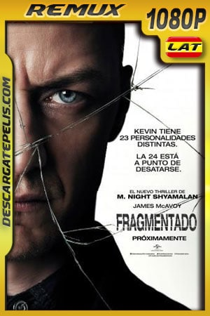 Fragmentado (2016) 1080p BDRemux Latino – Ingles