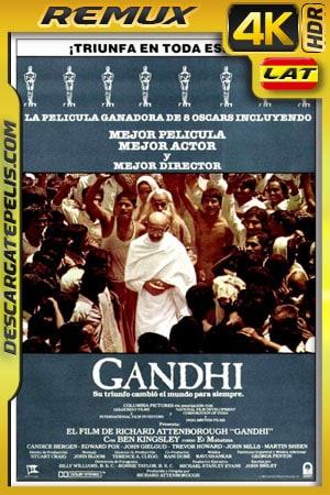 Gandhi (1982) 4k BDRemux HDR Latino – Ingles