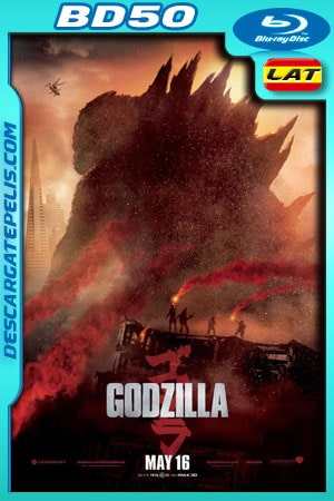 Godzilla (2014) 1080p BD50 Latino – Ingles