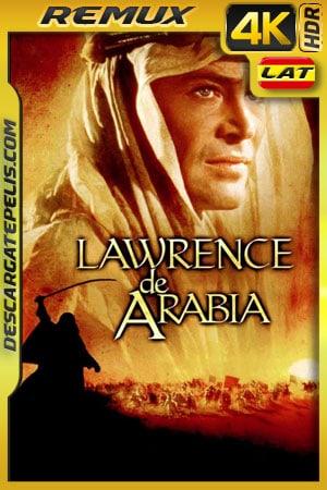 Lawrence de Arabia (1962) 4k BDRemux HDR Latino – Ingles
