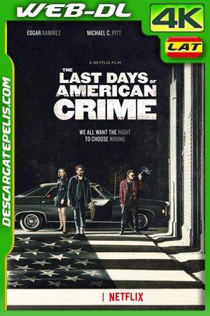 Los últimos días del crimen (2020) 4k WEB-DL Latino – Ingles