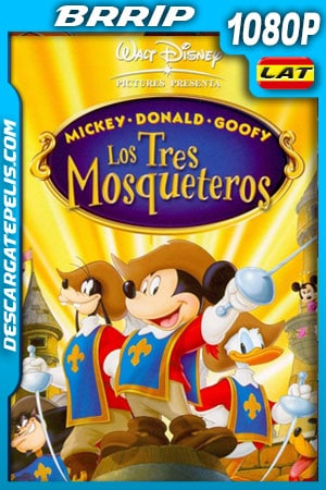 Los tres mosqueteros (2004) 1080p BRrip Latino – Ingles