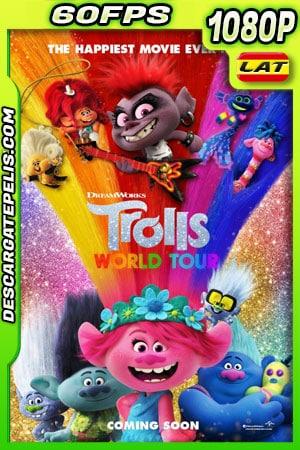 Trolls 2: gira mundial (2020) 1080p 60FPS BDrip Latino – Ingles