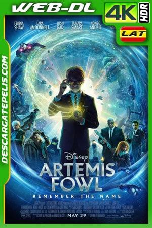 Artemis Fowl: El mundo subterráneo (2020) 4k WEB-DL HDR Latino