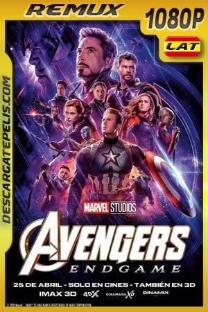 Avengers Endgame (2019) 1080p BDRemux Latino – Ingles