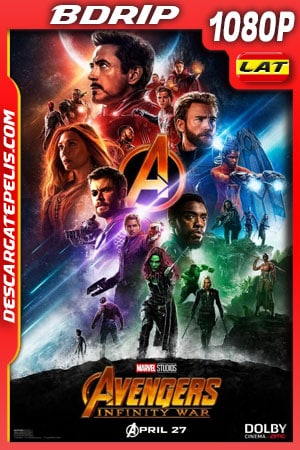 Avengers Infinity War (2018) 1080p BDrip Latino – Ingles