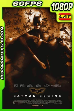 Batman inicia (2005) 1080p 60FPS BDrip Latino