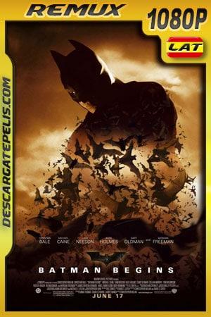 Batman inicia (2005) 1080p Remux Latino