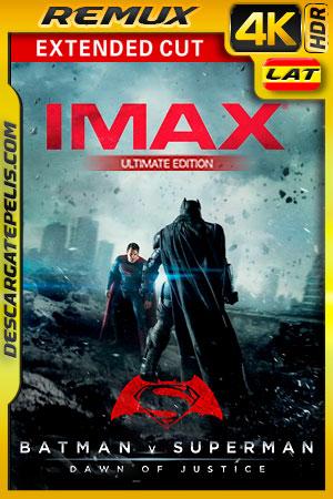 Batman vs Superman: El origen de la justicia (2016) Extended Cut (Ultimate Edition)(Remastered) IMAX 4K Remux HDR Latino