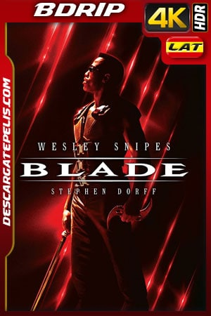 Blade (1998) 4k BDrip HDR Latino