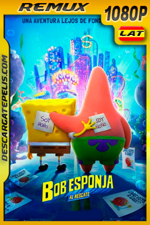 Bob Esponja: Al rescate (2020) 1080p Remux Latino