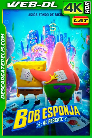 Bob Esponja: Al rescate (2020) 4K WEB-DL HDR Latino