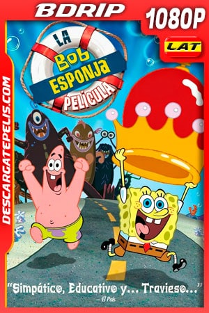 Bob Esponja: la película (2004) 1080p BDRip Latino