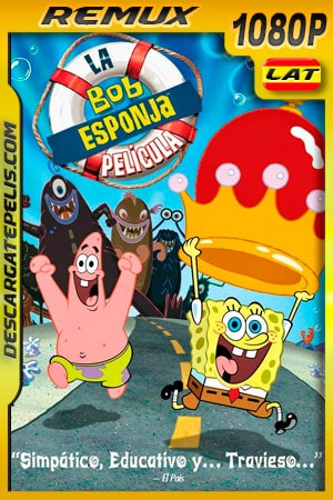 Bob Esponja: la película (2004) 1080p Remux Latino