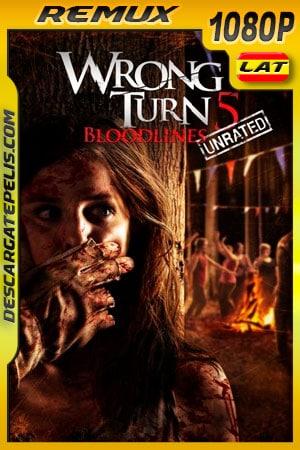 Camino hacia el terror 5: Límite sangriento (2012) Unrated 1080p Remux Latino