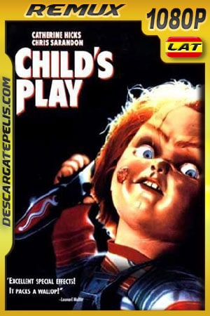 Chucky el muñeco diabólico (1988) 1080p BDRemux Latino – Ingles
