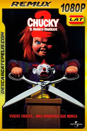 Chucky el muñeco diabólico 2 (1990) 1080p BDRemux Latino – Ingles
