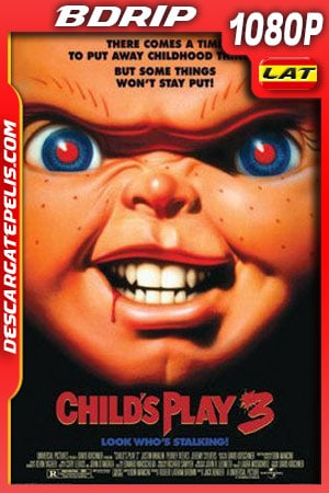 Chucky el muñeco diabólico 3 (1991) 1080p BDrip Latino – Ingles