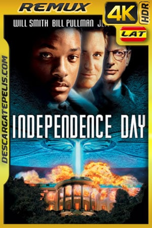 Dia de la Independencia EXTENDED (1996) 4k Remux HDR Latino