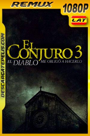 El conjuro: El diablo me obligó a hacerlo (2021) 1080p Remux Latino