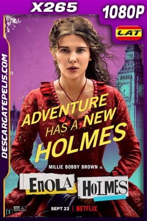 Enola Holmes (2020) 1080p X265 WEB-DL Latino – Ingles
