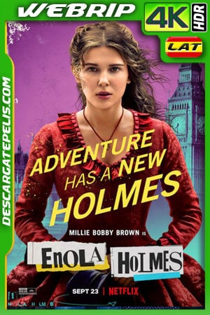 Enola Holmes (2020) 4k WEBrip HDR Latino – Ingles