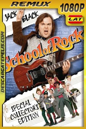 Escuela de Rock (2003) 1080p BDRemux Latino – Ingles