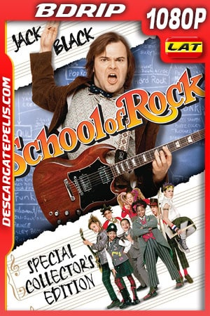 Escuela de Rock (2003) 1080p BDRip Latino – Ingles