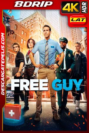 Free Guy: Tomando el control (2021) 4K BDRip HDR Latino
