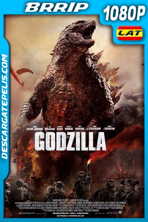 Godzilla (2014) 1080p BRrip Latino