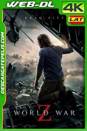 Guerra mundial Z (2013) Theatrical Cut 4K WEB-DL Latino