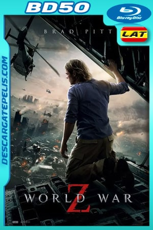 Guerra mundial Z (2013) Unrated Cut 1080p BD50 Latino – Ingles