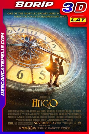 Hugo (2011) 3D 1080p BDrip Latino – Ingles