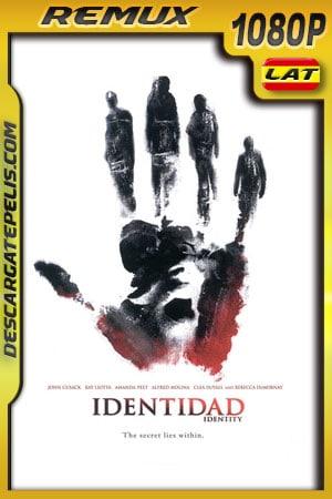 Identidad (2003) 1080p BDRemux Latino – Ingles