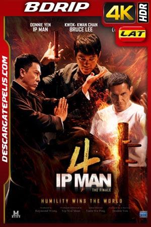 Ip Man 4 (2019) 4k BDrip HDR Latino
