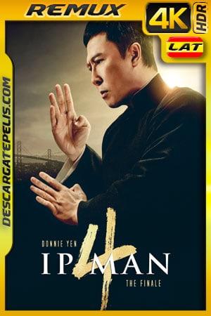 Ip Man 4 (2019) 4k Remux HDR Latino