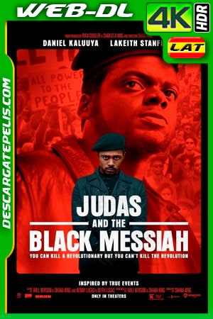 Judas y el mesías negro (2021) 4K WEB-DL HDR Latino