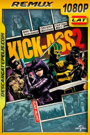 Kick-Ass 2 (2013) 1080p BDRemux Latino – Ingles