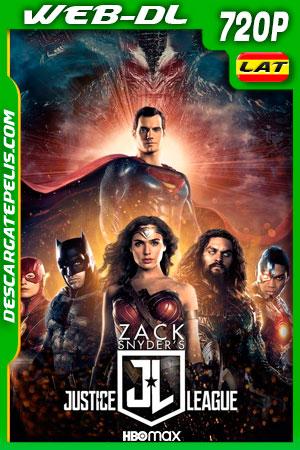 La Liga de la Justicia de Zack Snyder (2021) 720p WEB-DL Latino