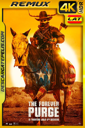 La purga por siempre (2021) 4k Remux HDR Latino