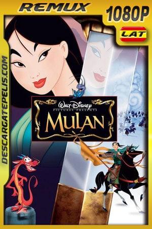 Mulan (1998) 1080p BDRemux Latino – Ingles