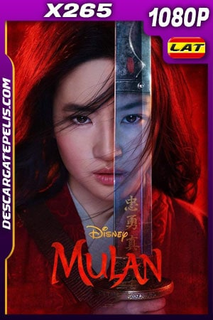 Mulán (2020) 1080p X265 WEB-DL Latino – Ingles