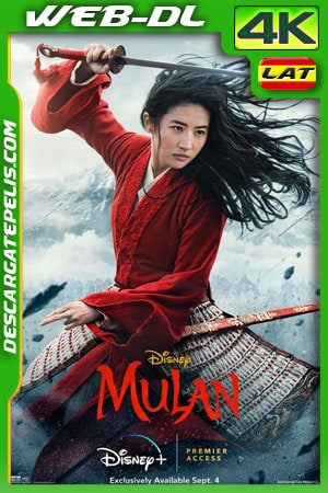 Mulán (2020) 4k WEB-DL Latino – Ingles