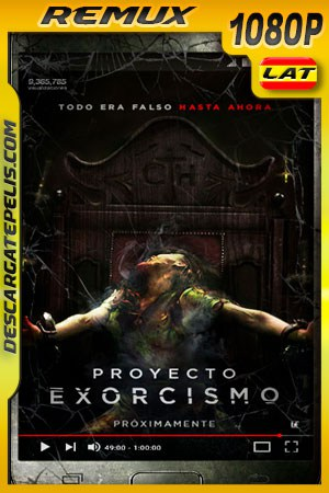 Proyecto Exorcismo (2019) 1080p Remux Latino