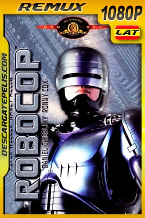 Robocop (1987) 1080p BDRemux Latino – Ingles