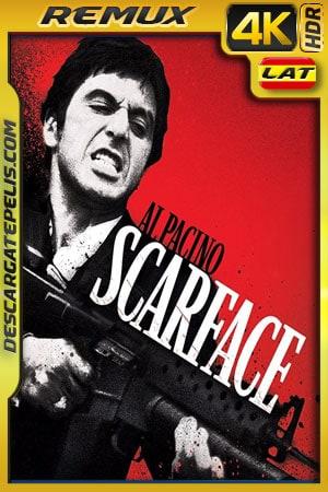 Scarface (1983) 4k BDRemux HDR Latino – Ingles